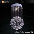 Modern chandelier LED stainless steel base for chandelier crystal glass lights OM6825W