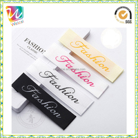 Customized Clothing Label / Fabric Woven Tags Supplier