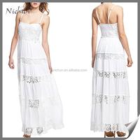 Beautiful summer spaghetti strape Kaftan Dress beach wear