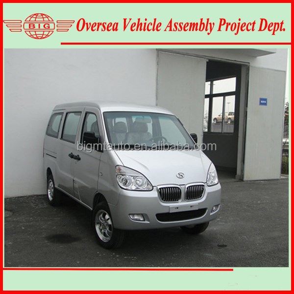 Euro IV Standard 8 Seats Gasoline Engine A/C Mini Bus Van