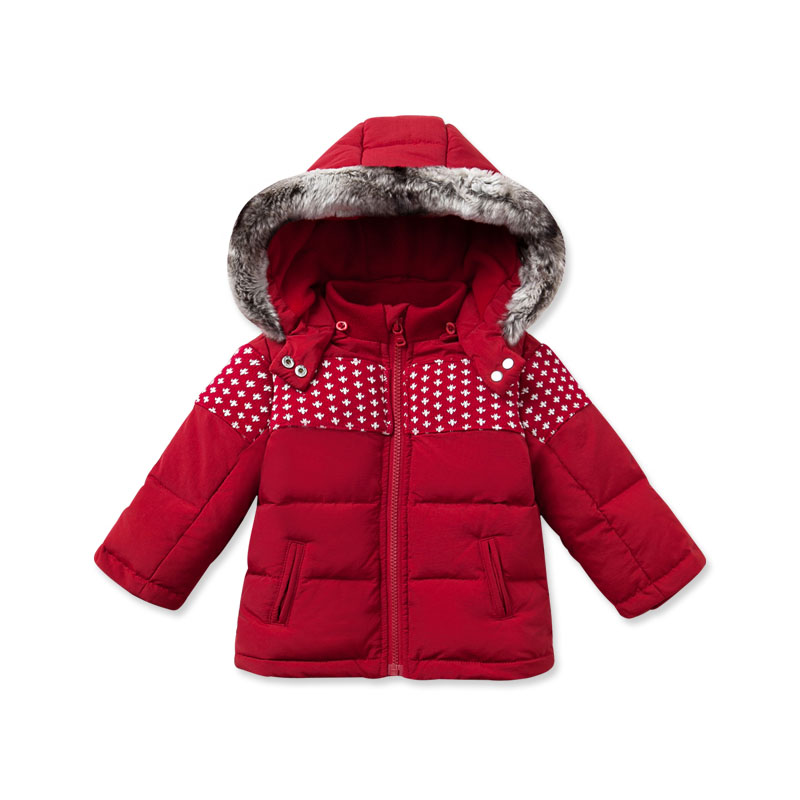 DB2839 dave bella 2015 autumn winter infant coat baby boy down jacket padded jacket outwear girls down coat down jacket