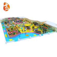 Newest Design Cheap Large Integrated Attractive Colorful Kids Indoor Playground