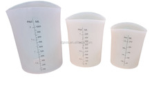 Silicone measuring cup 4cup 2 cup 1 cup