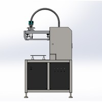 semi automatic balloon printing machine/screen printing machine