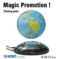New Invention ! Maglev floating Globe for Promotion Gift ! enamel metal trolley tokens