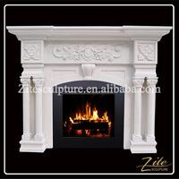 Customized Size Hand Carved steel outdoor fireplace