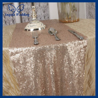 RU009A1 hot sale Angela weddding sequence champagne sequin table runner