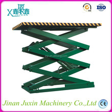Stationary cargo hydraulic upright scissor auto lift 3000