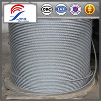 Ground Galvanized Steel Wire Rope Stainless Wire Steel Rope, Aircraft Cable