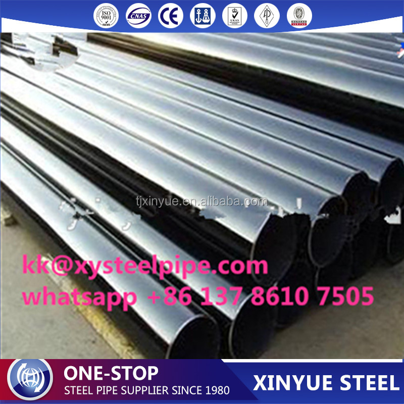 ASTM A333 Gr B 20# Schedule 40 Carbon ERW Welded Black Steel Pipe/Building Material Steel Pipe/Agricultural Pipe