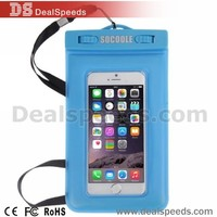 Universal Waterproof Bag for iPhone 6&6s All Below 6.0'' Smart Phones
