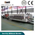 China made full automatic flexo printer slotter die cutter folder gluer bundling package line machine