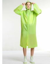 Environmental EVA Material rain poncho raincoat
