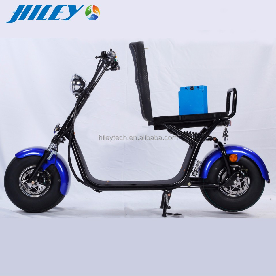 WOQU Original OEM Factory 72V 1200W 12AH Citycoco Electric Scooter Model X1-7212 citycoco/seev/woqu