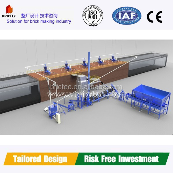 gas brick oven and tunel oven machinery