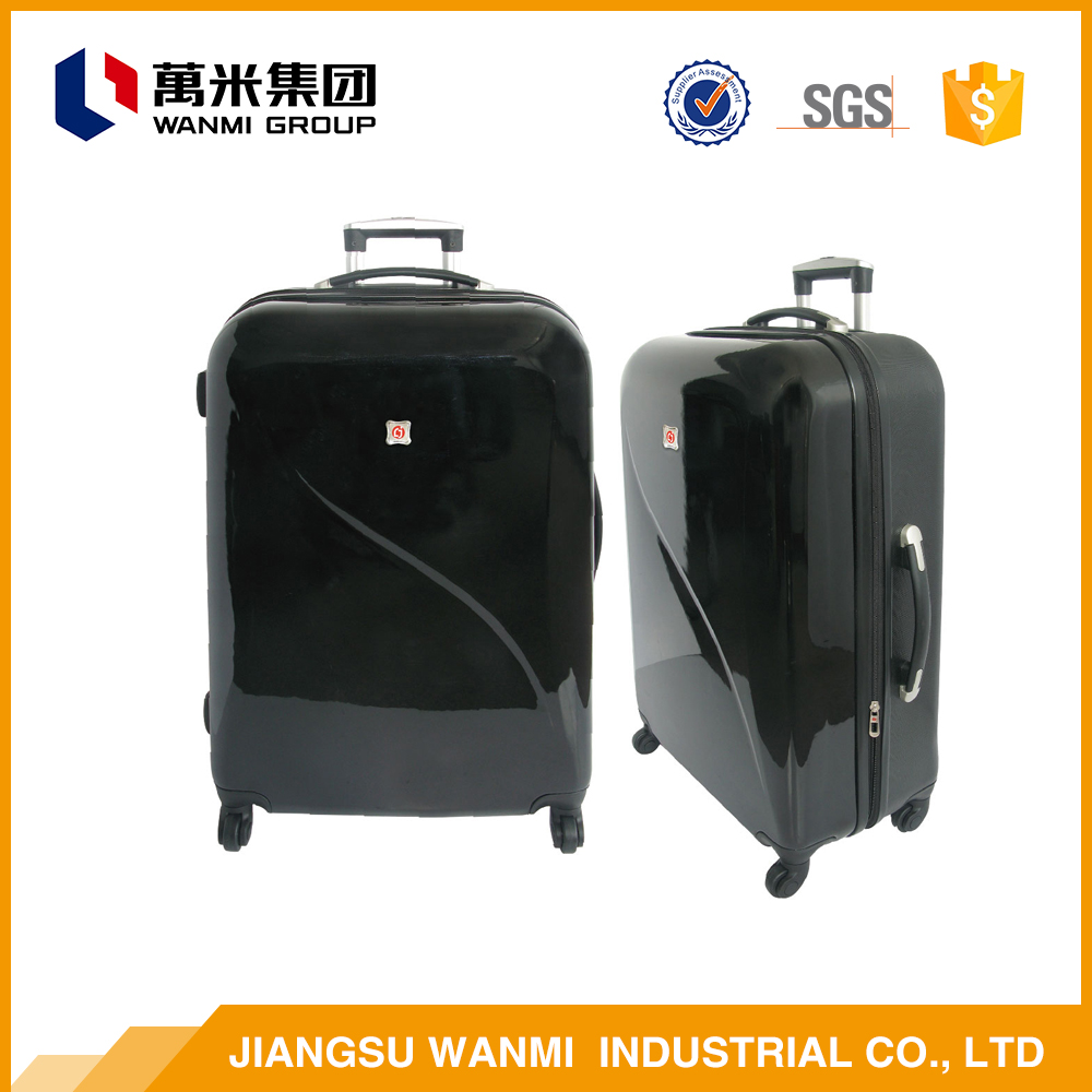 High quality product safe abs travel foldable trolley luggage bag sets