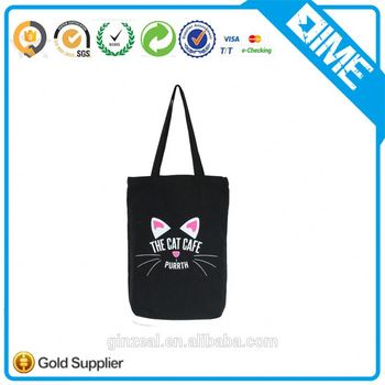 Tote Bags With Your logo 100% Cotton Handbags Brands Custom