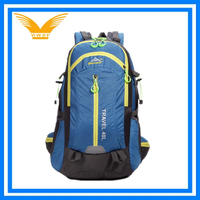 2015 fashion school custom travel sports outdoor nylon mountain camping hiking cycling backpacks bags