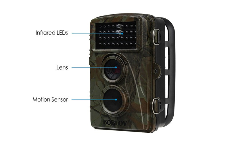 IR LED Night Security 1080P HD 12MP Hunting Scouting Trail Camera Game Wildlife