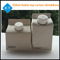 250ml Aseptic Juice gable top paper carton slim and base type