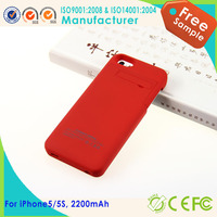 One Plus One Power Case For iPhone 5S , Power Bank Case For iPhone