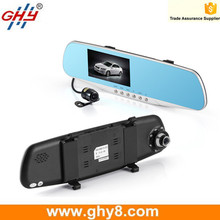 Rear View Car Reserving Dash Cam 1080p Dual Channel Parking Camera With Monitor HD