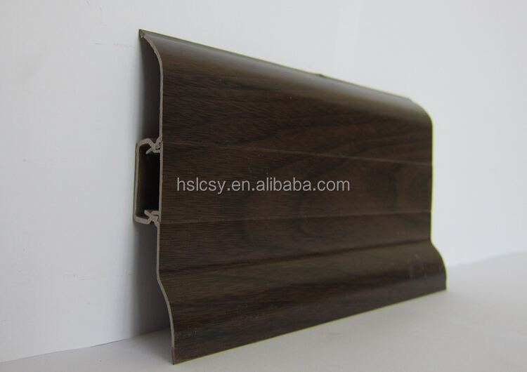 Popular decorative PVC skirting board for wall