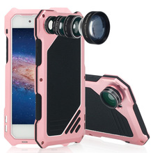 New Camera Lens Phone Case Shock-proof Case for iphone 7 plus