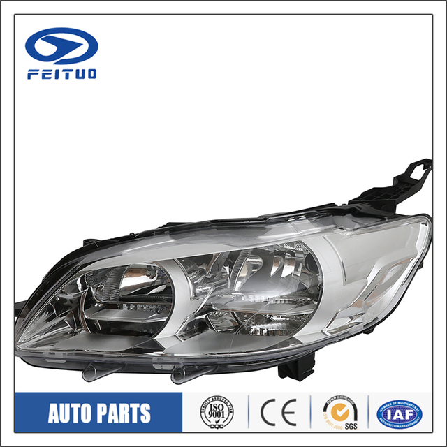 Car accessories car angel eyes head light For PEUGEOT 301