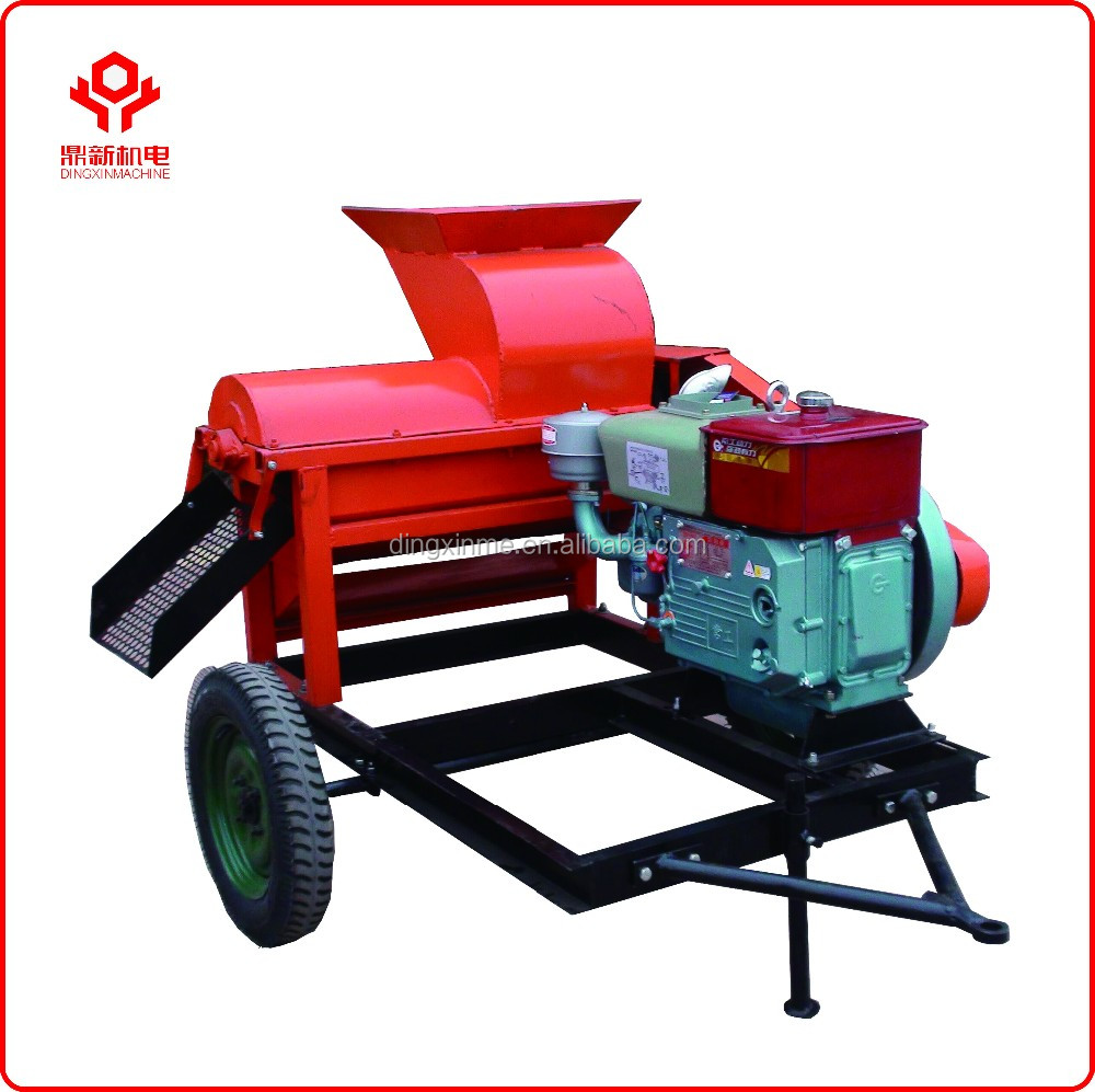 Farm maize huller and thresher/maize shelling machine/economical <strong>corn</strong> maize thresher