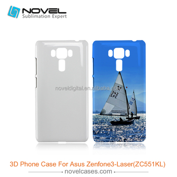High quality sublimation pc phone case for Asus Zenfone3-Laser(ZC551KL)
