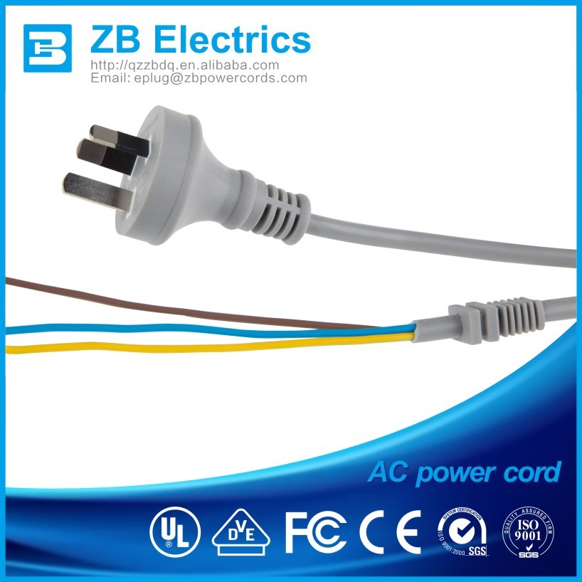 AC Power cords 240v extension cord for USA/UK/Europe/Austrilia Shenzhen Supplier