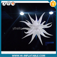 Newest items balloon decoration LED lighting inflatable star for party,nightclub,ktv decoration