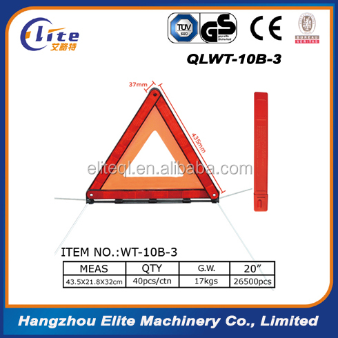 2016 road sign Safety Reflective Warning Triangle