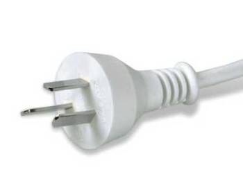 Argentina 3 pin plug & power cord;male power cord plug