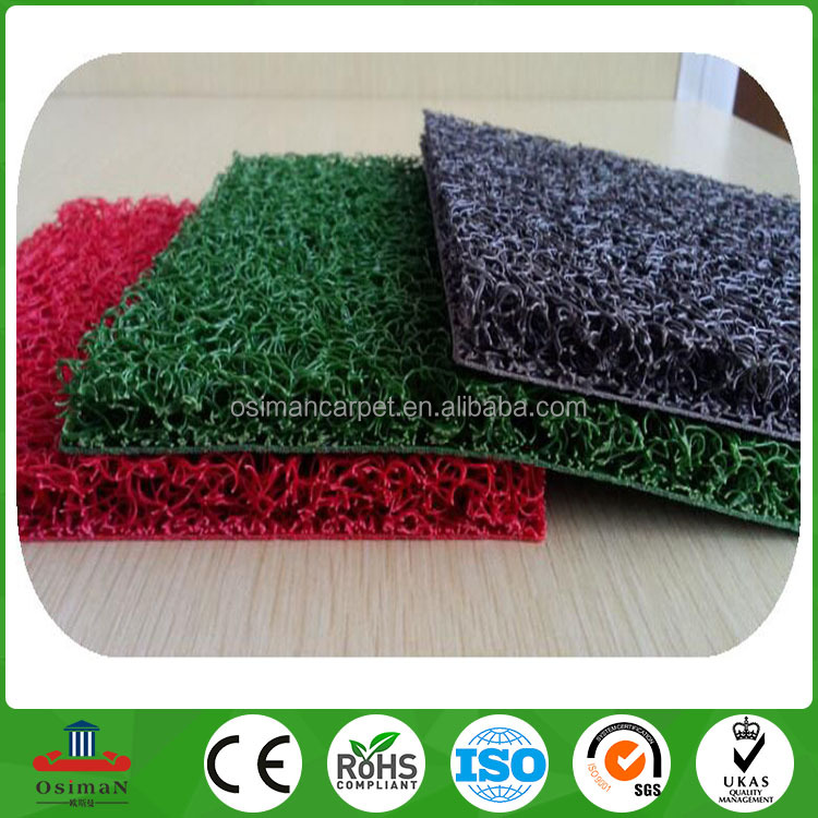 PVC cushion bath mat with suction cups Hotel for non-slip bath mat