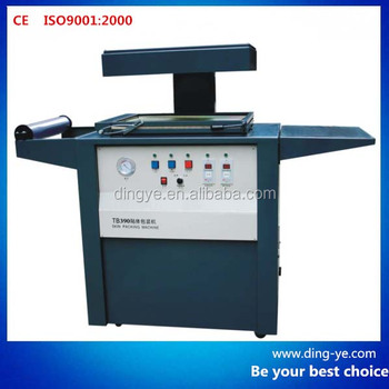 TB390 Economical skin packaging machine for hardware parts