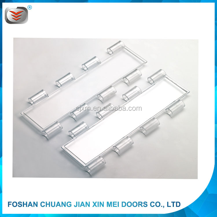 Security Motorized Transparent Polycarbonate Roller Shutter Door slat