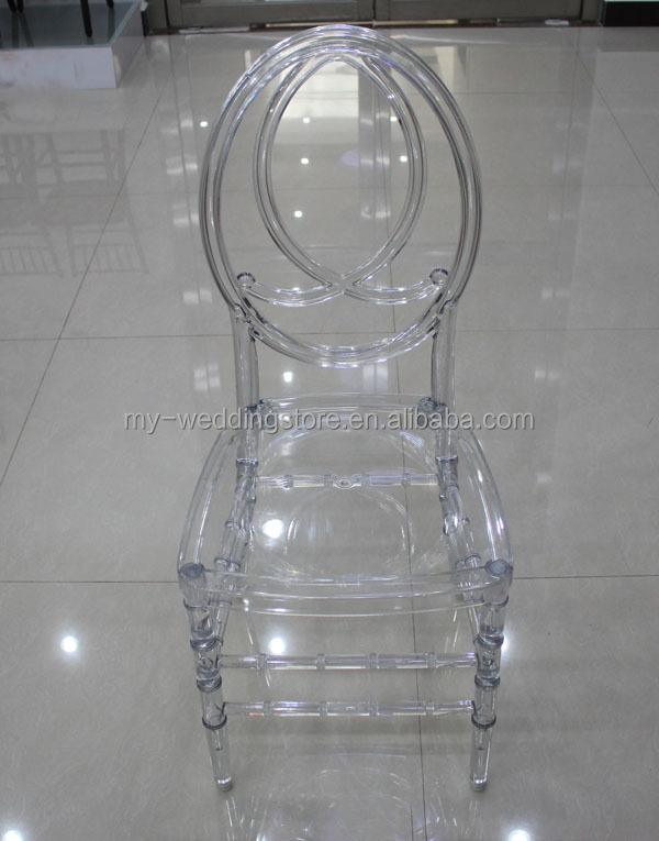 Acrilico transparente wedding resina phoenix silla sillas - Sillas acrilico transparente ...