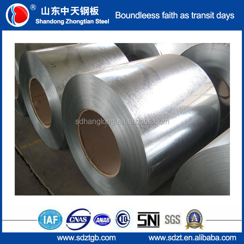 Hot Dipped Galvanized Steel Coils Z50