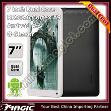 shenzhen cheap stuff 7 inch smart tablet android 4.2 jelly bean