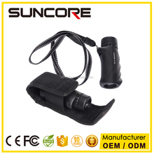 Suncore High Definition 8x Mini Monocular Pocket Scope With Molded Grip, Carrying Case, Neck Strap And Cleaning Cloth
