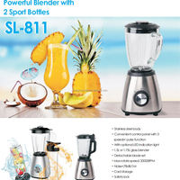 Powered Blender Smoothie Bottle Blender Mixer