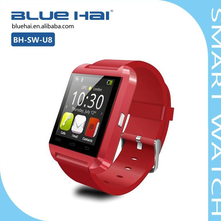 Factory Hot Selling CE ROHS Smart Watch Phone With Camera And Sim Card Slot,Bluetooth 3.0 Android Smart Watch Mobile Phone