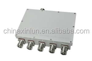 5 IN 1 OUT Combiner for Base Station 698-2700MHz Combiner with DIN type connectors