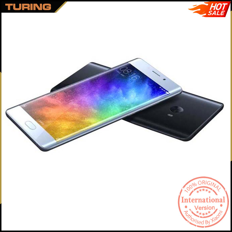 Xiaomi Mi Note 2 Note2 Low Price New Launch Mobile Phone 4GB RAM 64GB ROM MIUI 8 Android 6.0 Quad Core 5.7 inch 22.56MP