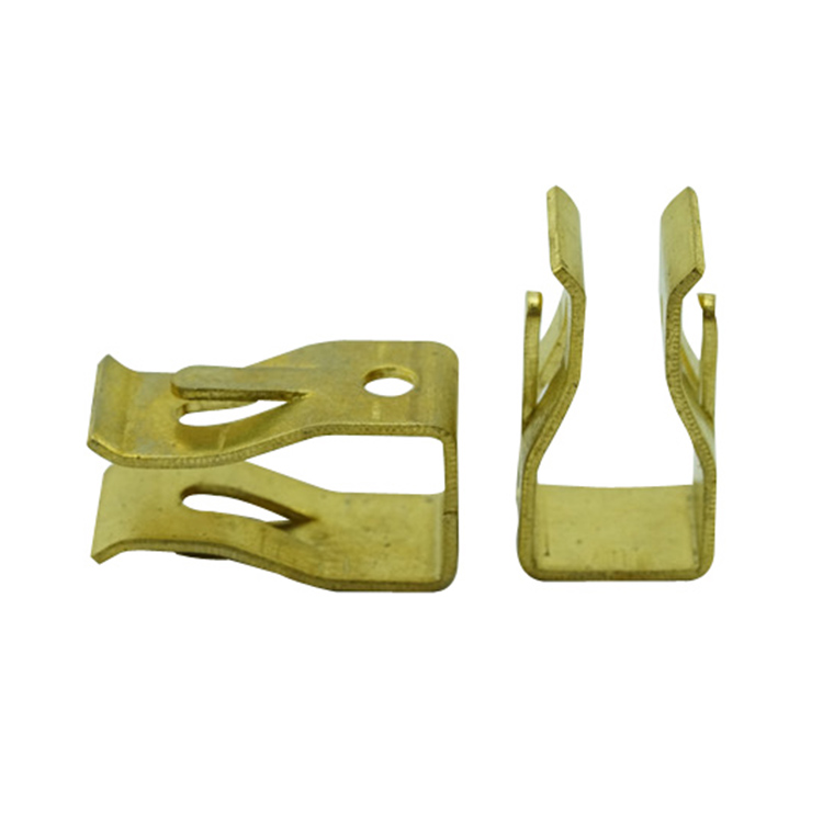 metal stamping part brass clip