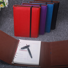 Customized Print Promotion PU Leather Notebook,Leather Diary