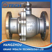 Water system worm gear operator shut off wafer type butterfly plug valve