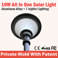 Low price of solar deck post cap lights manufactured in China